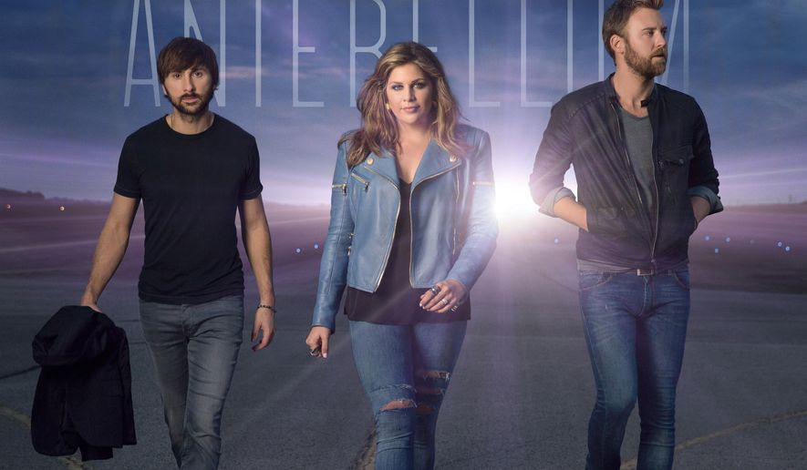 """This CD cover image released by Capitol Records Nashville shows """"747,"""" by Lady Antebellum. (AP Photo/Capitol Records Nashville)"""