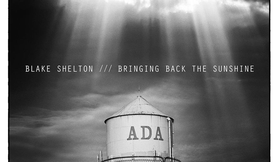 "This CD cover image released by Warner Bros. Records shows ""Bringing Back the Sunshine,"" by Blake Shelton. (AP Photo/Warner Bros. Records)"
