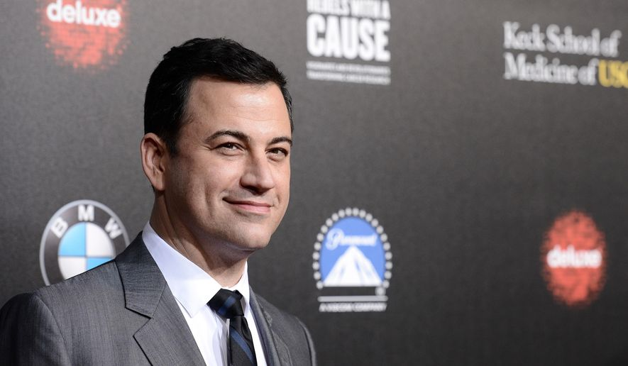 "FILE - In this March 20, 2014, file photo, television personality and event host Jimmy Kimmel attends the 2nd Annual ""Rebels With a Cause"" Gala benefiting the USC Center for Applied Molecular Medicine at Paramount Pictures Studios in Los Angeles. Computer security software firm McAfee says the talk-show host is the most dangerous celebrity to search for online. The company said Tuesday, Sept. 30, 2014, that a search for Kimmel carries a 19 percent chance of landing on a website that has tested positive for spyware, viruses or malware. (Photo by Dan Steinberg/Invision/AP, File)"