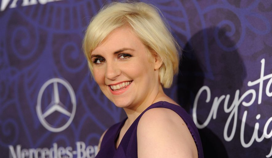 "In this Aug. 23, 2014 file photo, actress Lena Dunham arrives at Variety and Women in Film's pre-Emmy celebration in West Hollywood, Calif. Dunham has penned a book, ""Not That Kind of Girl: A Young Woman Tells You What She's 'Learned',"" released on Sept. 30. (Photo by Evan Agostini/Invision/AP, File) ** FILE **"