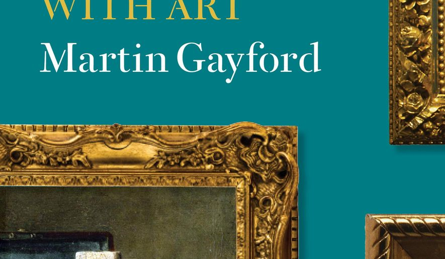 """This book cover image released by Thames & Hudson shows """"Rendez-vous with Art,"""" by  Philippe de Montebello and Martin Gayford. (AP Photo/Thames & Hudson)"""