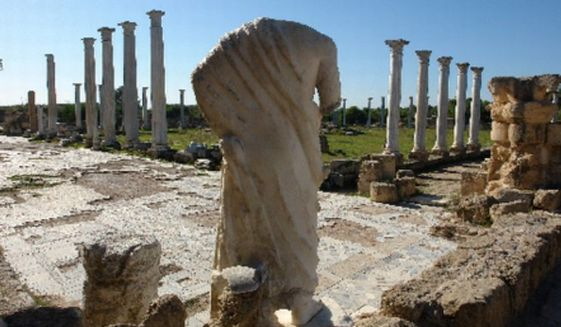 Traces of a historic and cultural heritage in the 1,310-square-mile Northern Cyprus go back 10,000 years. The first signs of human occupation on the island date from 8,000 B.C.