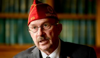 National Commander of the American Legion Michael Helm at their national headquarters, Washington, D.C., Tuesday, Sept. 30, 2014. (Andrew Harnik/The Washington Times)
