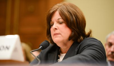 Secret Service Director Julia Pierson, former Secret Service Director W. Ralph Basham and former Assistant Homeland Security Secretary for Infrastructure Protection Todd Keil testify in front of the House Oversight and Government Reform Committee on Capitol Hill to discuss the recent White House perimeter breach when an armed Texas man made it into the White House earlier this month, Washington, D.C., Tuesday, September 30, 2014. (Andrew Harnik/The Washington Times)
