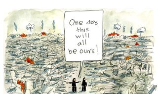 Illustration by Clement, National Post, Toronto, Canada