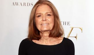 "In a Democratic campaign appeal, Gloria Steinem, above, stokes fear of a GOP ""war on women."" But voters are worried about pocketbook issues, says commentator Mark Hyman. (Photo by Luiz C. Ribeiro/Invision/AP, file)"