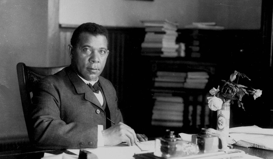 """Blacks must ask if it's time for """"a second change in strategic focus from civil rights to economic development,"""" says Omari West. Educator Booker T. Washington (above, in 1894) guided the first pivot. (AP Photo/Library of Congress)"""
