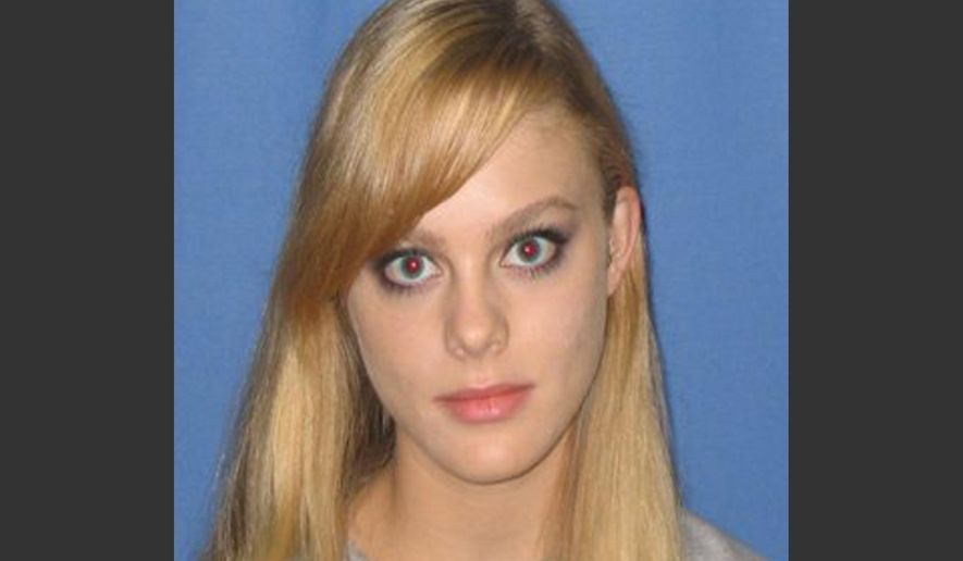 FILE - This undated file photo provided by the Virginia State Police, missing Virginia Tech student Morgan Harrington, 20, of Roanoke County, Va., is shown. Police say the investigation into the case of missing University of Virginia student Hannah Graham has turned up a lead in Harrington's 2009 disappearance and death. (AP Photo/Virginia State Police, File)