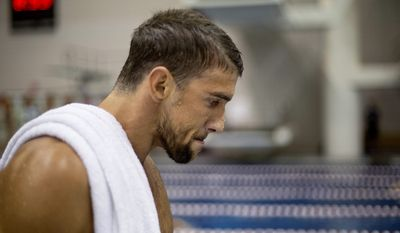 Transit police in Maryland say they stopped the 29-year-old Michael Phelps at the Fort McHenry Tunnel in Baltimore around 1:40 a.m. Tuesday, Sept. 30, 2014. (AP Photo/David Goldman, File)