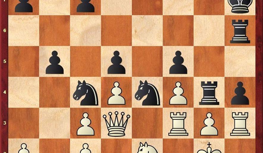 Mannheimer-Nimzovich after 37. Rh3