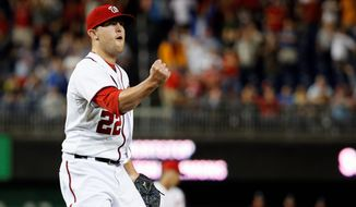 Pumped up: Prospects of victory and failure hang in the balance and creep into the minds of Drew Storen and other closers during the eighth and ninth innings. Returning to the Nationals closer role, Storen has the drive of a winner. (Associated Press photographs)