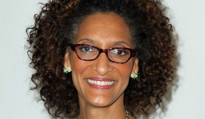 """Carla Hall, co-host of ABC's """"The Chew,"""" will co-host the Chefs Take a Stand event on Thursday, which will be held at the Carnegie Library (801 K St. NW) from 7 to 9:30 p.m. (Associated Press) **FILE**"""