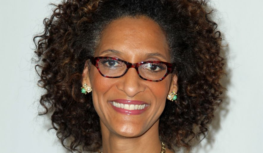 "Carla Hall, co-host of ABC's ""The Chew,"" will co-host the Chefs Take a Stand event on Thursday, which will be held at the Carnegie Library (801 K St. NW) from 7 to 9:30 p.m. (Associated Press) **FILE**"