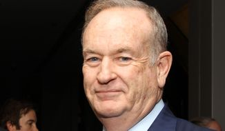 Fox News anchor Bill O'Reilly (Associated Press) ** FILE **