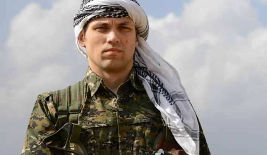 American Jordan Matson has reportedly left his home state of Wisconsin to join Kurdish fighters battling the Islamic State group in Syria. (Image: Twitter, Kendal Derik)