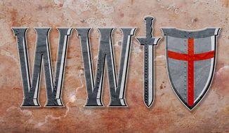 World War Four Crusade Illustration by Greg Groesch/The Washington Times