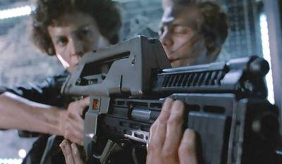 Sigourney Weaver is known especially for the lead role of Ellen Ripley in the four Alien films: Alien, Aliens, Alien 3 and Alien Resurrection.
