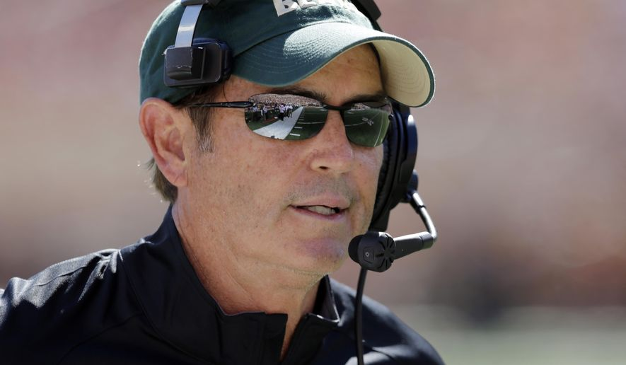 Baylor Bears head coach Art Briles watches from the sidelines during the first half of an NCAA college football game against Texas, Saturday, Oct. 4, 2014, in Austin, Texas. (AP Photo/Eric Gay)