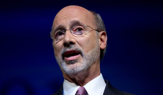 Beginner's luck? Democrat Tom Wolf, 65, who has never held elected office, is more than 15 percentage points ahead of the governor in polls. (Associated Press)