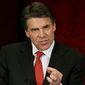 Gov. Rick Perry   Associated Press photo