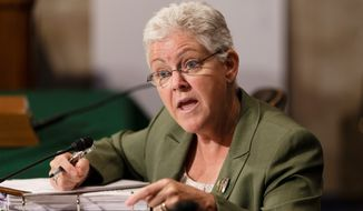 The EPA, headed by Gina McCarthy, says strontium, which can reduce bone strength among those deficient in calcium, is the latest contaminant to be targeted under the 1974 Safe Drinking Water Act. (Associated Press Photographs)