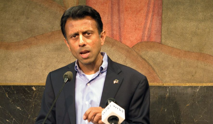 Louisiana Gov. Bobby Jindal has found Democrats joining his side as he rallies for school choice, even some who helped kill a voucher bill before Hurricane Katrina. (Associated Press)