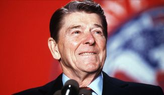 Former President Ronald Reagan. (The Washington Times) ** FILE **