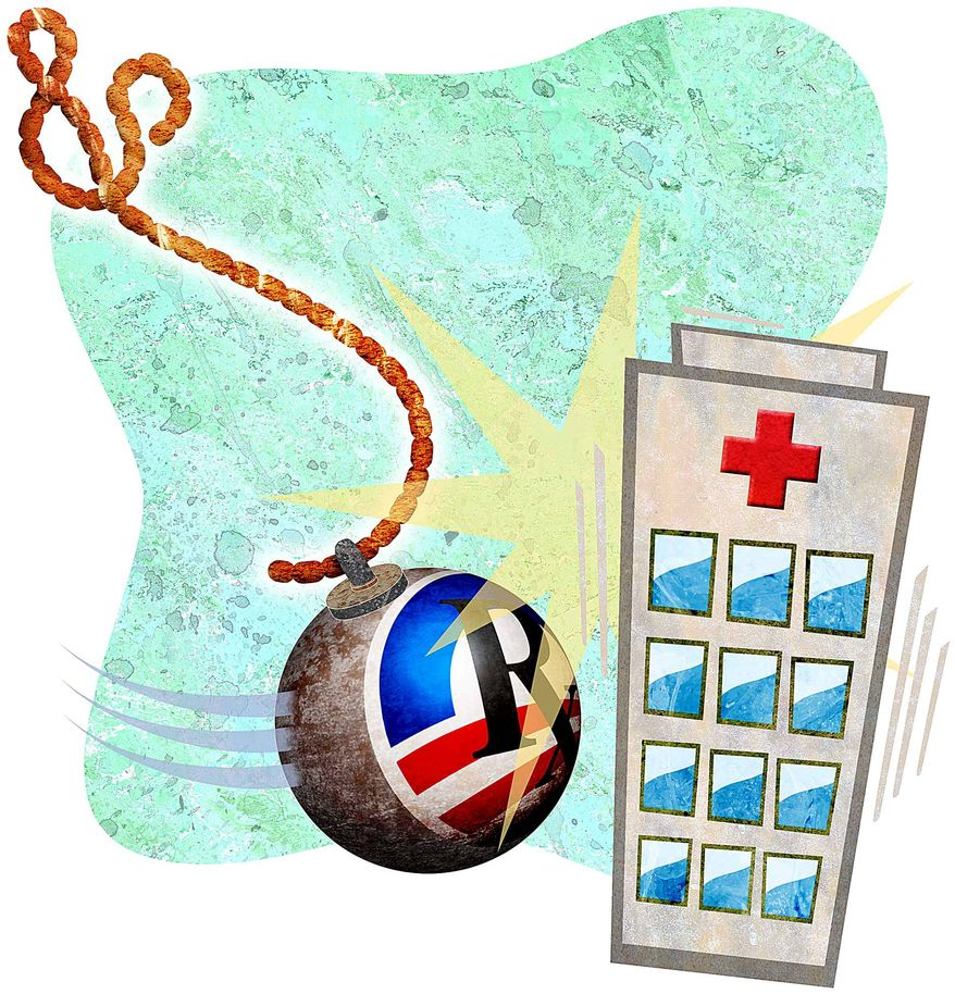 Government Control of Medicine Illustration by Greg Groesch/The Washington Times
