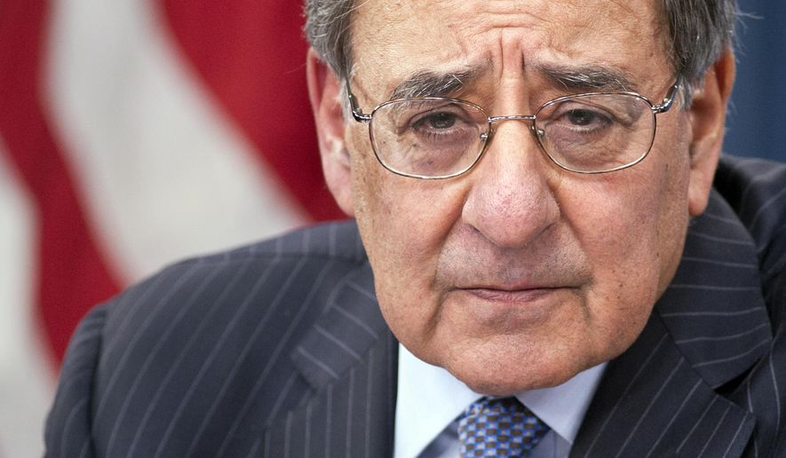 FILE - In this Jan. 24, 2013, photo, Defense Secretary Leon Panetta participates in a news conference at the Pentagon in Washington, where he announced he is lifting a ban on women serving in combat. President Barack Obama is finding himself with few friends in Washington. His former Pentagon chief is criticizing his foreign policy. Longtime political advisers are questioning his campaign strategy. And Democrats locked in tough midterm campaigns don't want Obama anywhere near them between now and Election Day.(AP Photo/Cliff Owen, File)