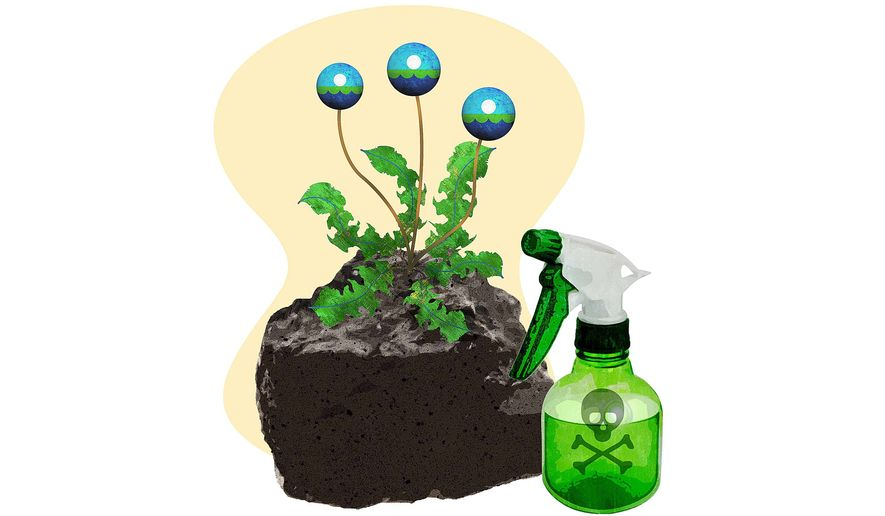 EPA Weeds Attacking Coal Industry Illustration by Greg Groesch/The Washington Times