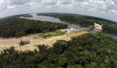 The Government of Suriname is building bridges to connect remote communities to economic and social life. (Photo: Courtesy Government of Suriname)