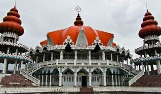 The Arya Dewaker Hindu Temple in Paramaribo (Photo: Courtesy Wilderness Explorers)