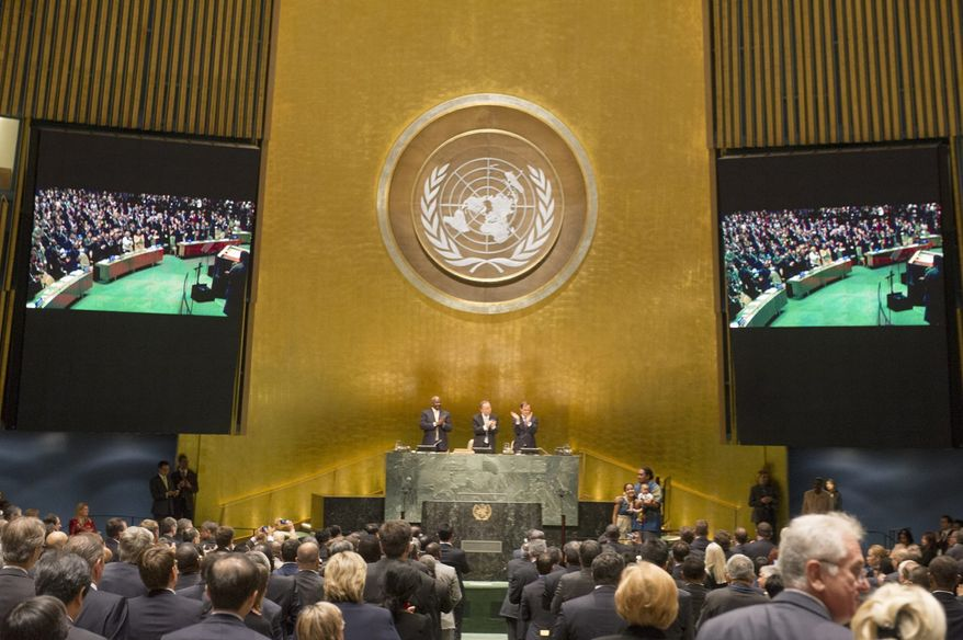 Opening ceremony of the United Nations Climate Summit, September 2014. (Photo: Courtesy United Nations)