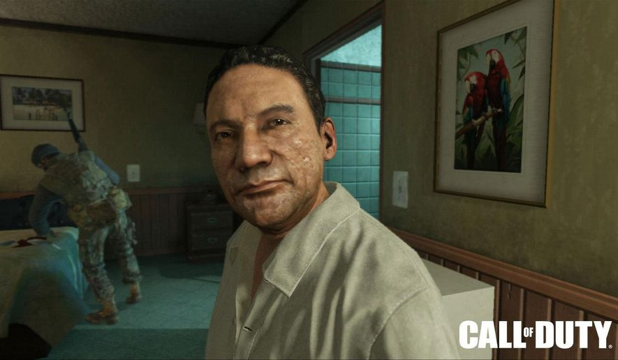 "FILE - This photo provided by Activision Blizzard Inc. shows Manuel Noriega as depicted in the game publisher's 2012 game, ""Call of Duty: Black Ops II."" Activision says former New York City Mayor Rudy Giuliani will argue for the dismissal of a case filed by the disgraced Panamanian dictator for use of his likeness without permission. (AP Photo/Activision Blizzard, File)"