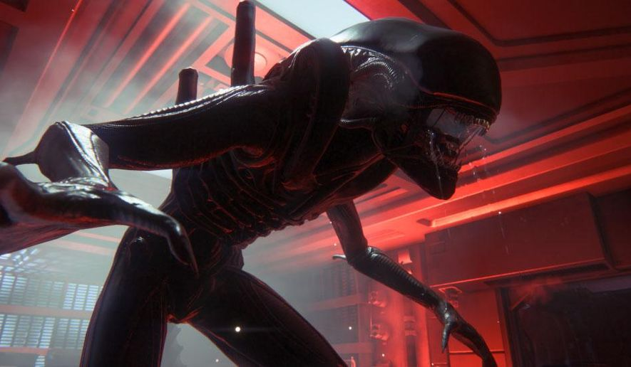 "This image released by Sega shows a scene from the video game ""Alien: Isolation."" (AP Photo/Sega)"