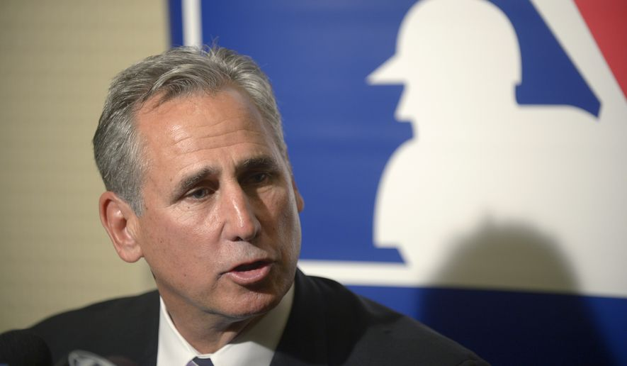 San Diego Padres manager Bud Black talks to reporters during a media availability at baseball's winter meetings in Lake Buena Vista, Fla., Wednesday, Dec. 11, 2013.(AP Photo/Phelan M. Ebenhack)