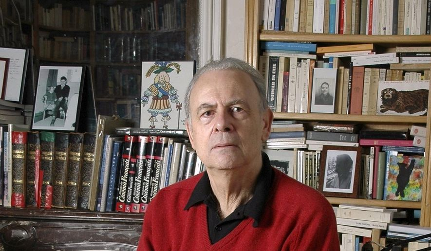 In this undated photo provided by publisher Gallimard, French novelist Patrick Modiano poses for a photograph. Patrick Modiano of France has won the 2014 Nobel Prize for Literature. (AP Photo/Gallimard)