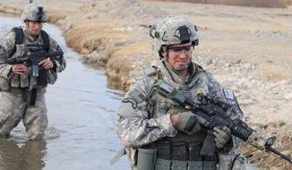 Back when military conflicts had names, U.S. Army troops in Afghanistan in December 2009 carry out Operation Enduring Freedom. (U.S. Air Force)