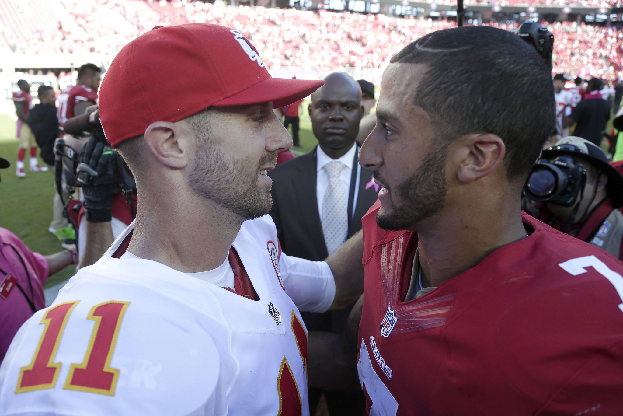 Redskins reportedly not interested in Colin Kaepernick