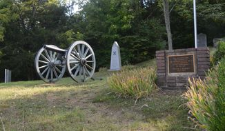 Monuments at Winstead Hill, which was General Hood's command post during the Battle of Franklin. (Photo courtesy of Judson Phillips)