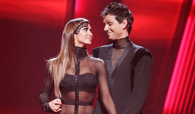 """Ralph Macchio and his """"Dancing With the Stars"""" partner, Karina Smirnoff, also partnered for his latest short film """"Across Grace Alley."""""""