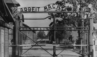 Nazi Auschwitz concentration camp (AP Photo)
