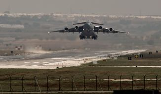 Turkish officials on Monday denied the existence of a deal to allow U.S.-led forces battling the Islamic State to conduct operations from bases inside Turkey, such as Incirlik. This made for an awkward situation for National Security Adviser Susan E. Rice, who announced such a cooperation ahead of an international strategy session. (associated press)