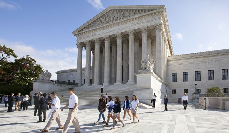 The U.S. Supreme Court (AP Photo/J. Scott Applewhite)
