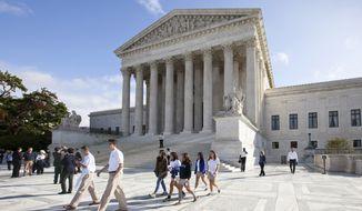 The U.S. Supreme Court (AP Photo/J. Scott Applewhite)