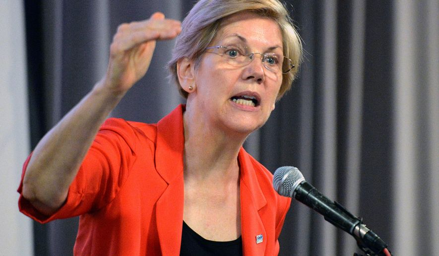 Sen. Elizabeth Warren of Massachusetts (Associated Press)
