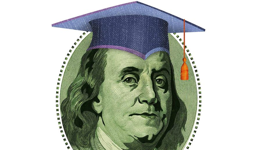 Student Loan - College Debt Illustration by Greg Groesch/The Washington Times