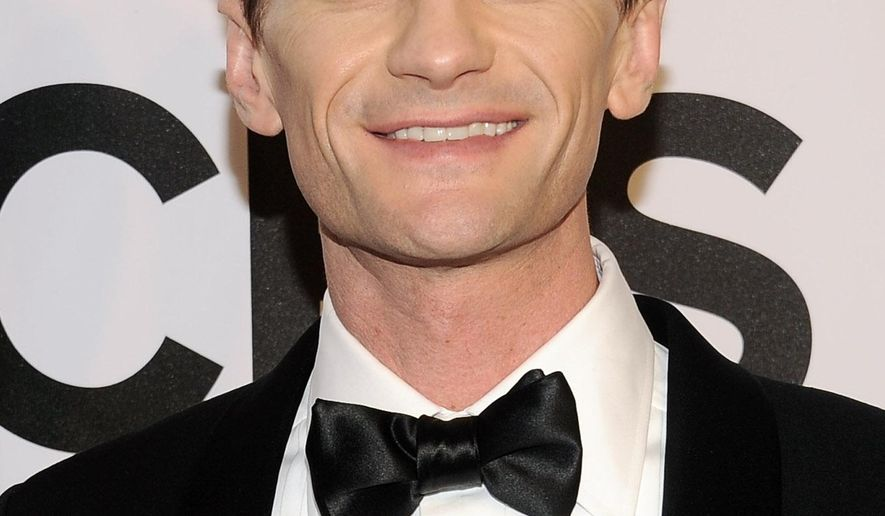 FILE - In this June 8, 2014 file photo, Neil Patrick Harris arrives at the 68th annual Tony Awards at Radio City Music Hall in New York. Harris is set to host the Oscars next year. The actor and author announced his latest gig online Wednesday, Oct. 15, 2014. The 87th annual Academy Awards will air live on ABC on Sunday, February 22, 2015. (Photo by Charles Sykes/Invision/AP, file)
