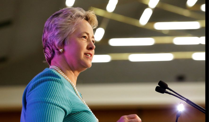 Houston Mayor Annise Parker (Associated Press) **FILE**