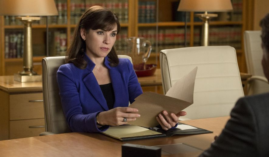 "FILE - This file image released by CBS shows Julianna Margulies as Alicia Florrick in a scene from ""The Good Wife."" Jumping on the cord-cutting bandwagon, CBS on Thursday, Oct. 16, 2014 announced it is launching a stand-alone digital streaming service for $5.99 a month that will offer subscribers access to its current and older shows. (AP Photo/CBS, David Giesbrecht, File)"